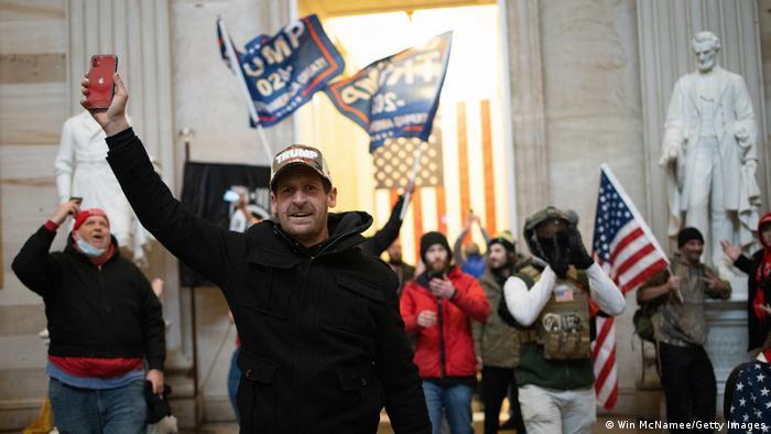 Штурм Капітолія прихильниками Трампа 6 січня