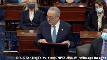 US-Senat nach der Wiederaufnahme der Sitzung | Chuck Schumer