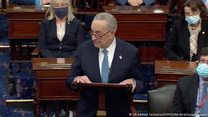 Лидер демократов в Сенате Чак Шумер