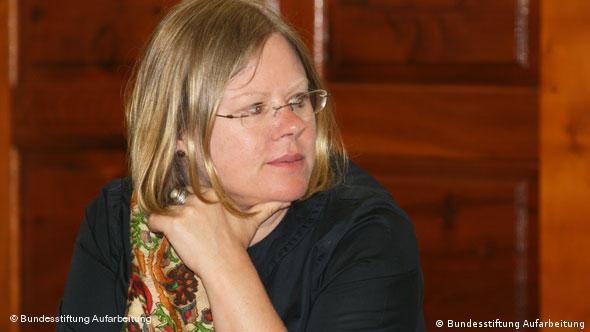 Anna Kaminsky von der Stiftung Aufarbeitung
