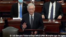 US-Senat nach der Wiederaufnahme der Sitzung | Mitch McConnell