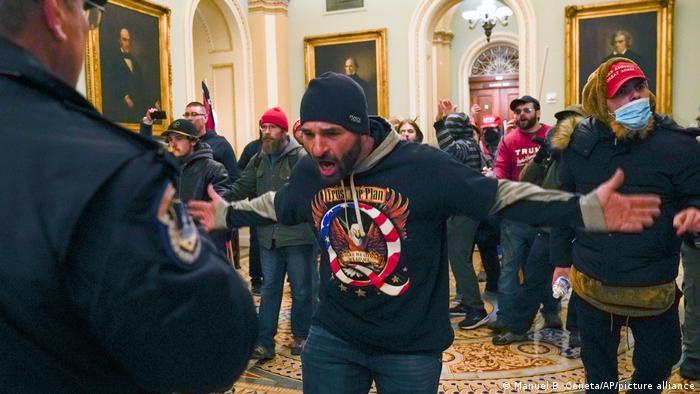 BdTD USA | Demonstranten im Kapitol