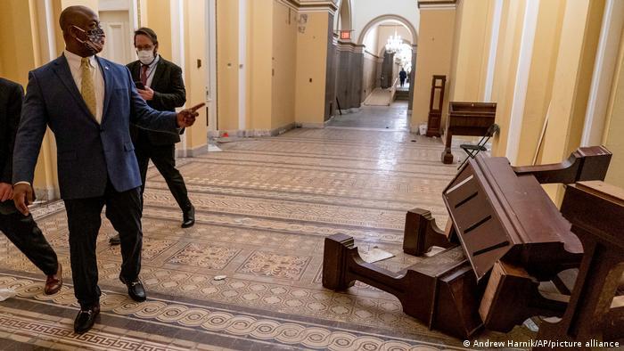 Disturbios en el Capitolio de EE. UU.