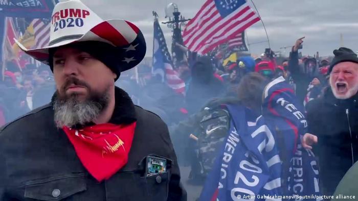 Manifestantes pro Trump causan disturbios al asaltar el Congreso de EE. UU. (6.01.2021).