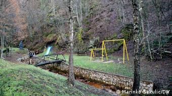 Bosnien und Herzegowina |Heilwasser Guber bei Srebrenica | Spielplatz