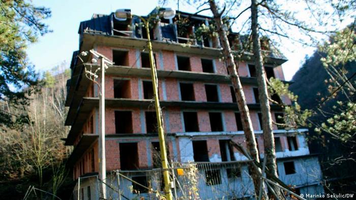 Bosnien und Herzegowina |Heilwasser Guber bei Srebrenica |Krankenhaus