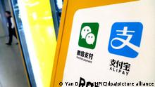 China Logo von Alipay - Alibaba Group