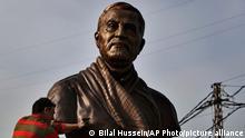 Libanon Beirut | Statue des iranischen Generals Qasem Soleimani