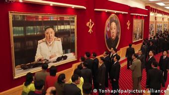 Ким Чен Ын в мундире маршала