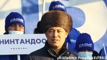 Kirgisistan Präsidentschaftskandidat Sadyr Dschaparow