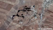 Syrien | Satellitenbild der Ölraffinerie Gir Zero