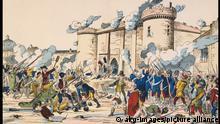 Frankreich Gemälde Sturm auf die Bastille