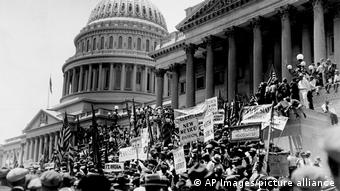 Το Kαπιτώλιο το 1932 στα χρόνια της Μεγάλης Ύφεσης