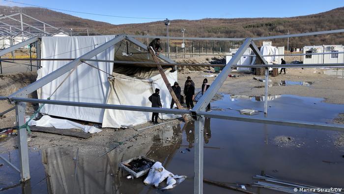 Bosnien-Herzegowina: Flüchtlingscamp Lipa