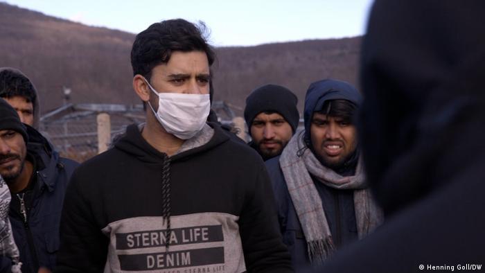 Bosnien-Herzegowina: Flüchtlingscamp Lipa, Ashfaq Ahmed aus Pakistan