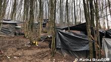 Bosnien-Herzegowina Flüchtlingscamp