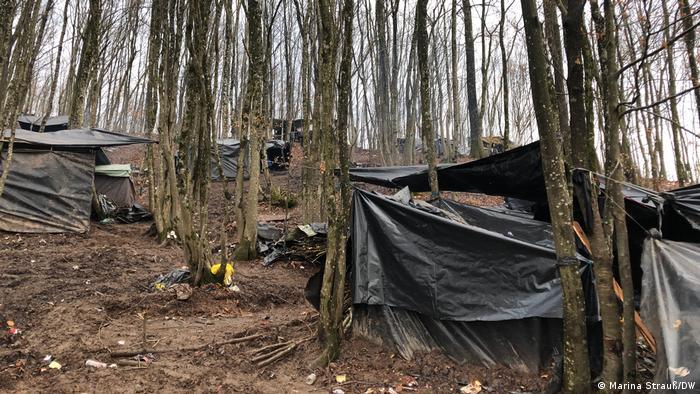Bosnien-Herzegowina: Flüchtlingscamp bei Velika Kladusa