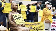 Deutschland Statue Comfort women in Berlin