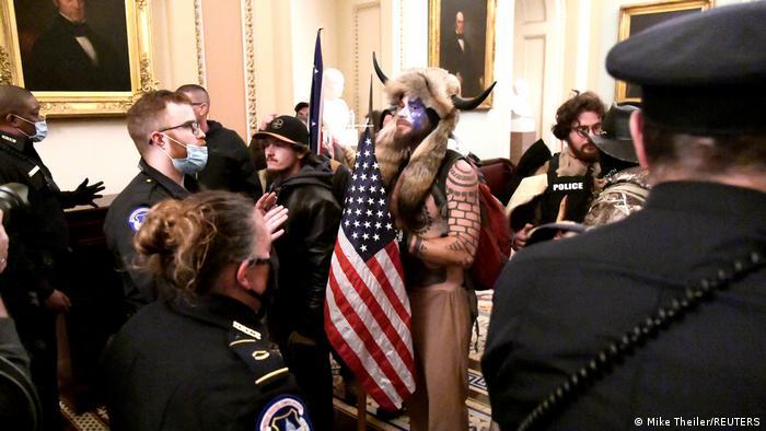 Trampove pristalice u Kapitolu 6. januara