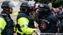 Washington   Sturm auf Kapitol   Polizisten und Mitglied der Proud Boys