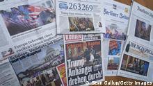 Zeitungen Reaktionen | Washington Sturm auf Kapitol