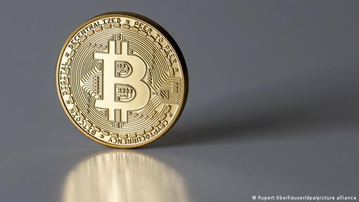 Bitcoin Münze