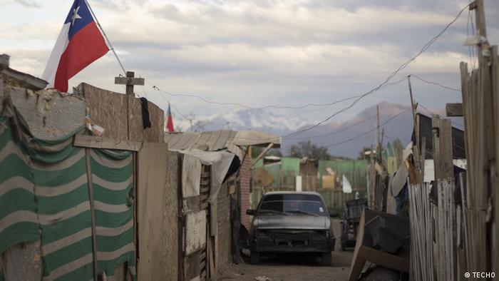 Asentamiento informal en Chile.