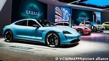 China Shanghai | China International Import Expo (CIIE) | Porsche Taycan