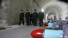 Iran Militär Raketenstadt am Persischen Golf
