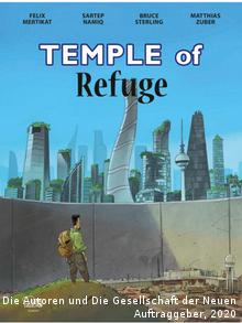 The cover of the book Temple of Refuge