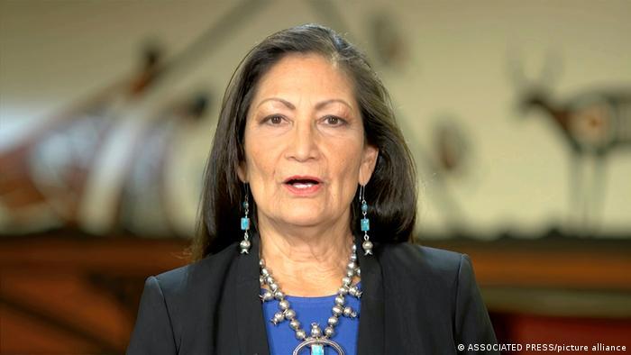 Deb Haaland, ministra del Interior de Estados Unidos.