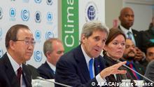 John Kerry USA Porträt Klimapolitik Paris