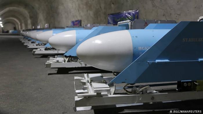 Iran I Geheime Raketen der iranischen Revolutionsgarden