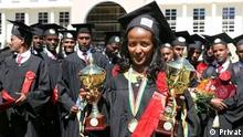 Äthiopien I Absolventin Tigist Mekonnen