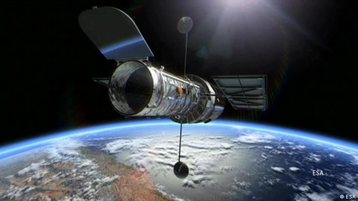 NASA's Hubble Space Telescope in orbit