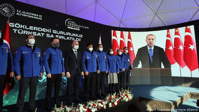 Türkei   Satellitenstart   Türksat 5A