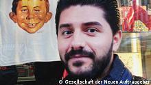 Comic Temple of Refuge: Auftraggeber und Hauptdarsteller Sartep Namiq
