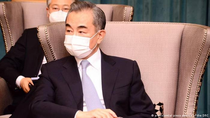 Kongo Treffen mit Chians Außenminister Wang Yi