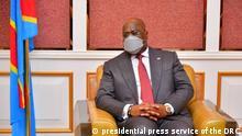 DR Congo President Felix Tshisekedi