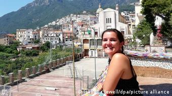Η βρετανίδα φοιτήτρια Ιζαμπέλα Τζούελ στην Ιταλία