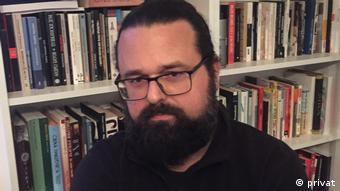 Montenegro Schriftsteller und Kolumnist Andrej Nikolaidis
