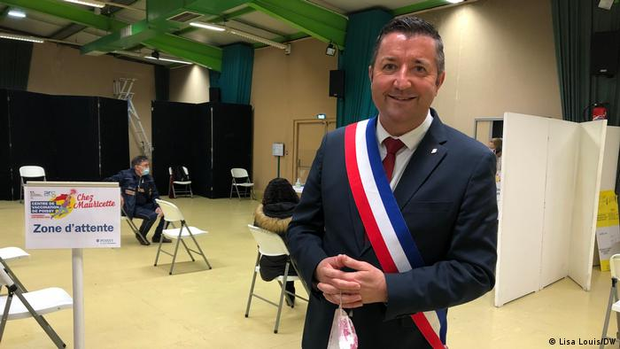 Poissy Mayor Karl Olive