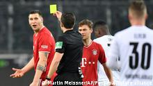 Fußball Bundesliga FC Bayern München - Borussia Mönchengladbach