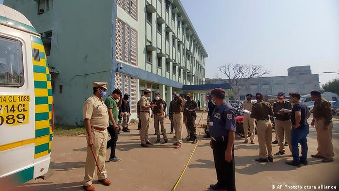 Лікарня в індійському штаті Махараштра, де сталася пожежа