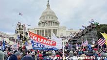 USA Washington | Pro-Trump Unterstützer stürmen Kapitol