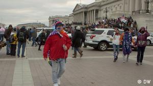 USA Washington DC Capitol Ausschreitungen Peter Boykin
