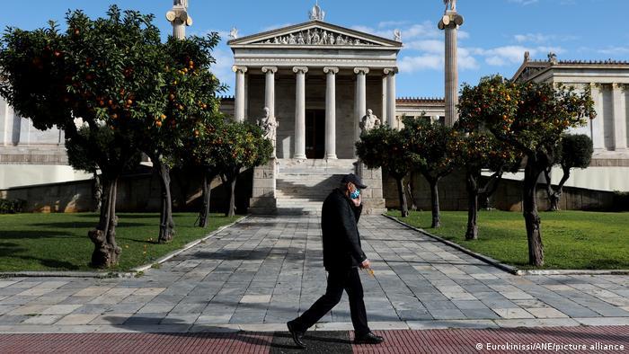 Athen Lockdown Stadt