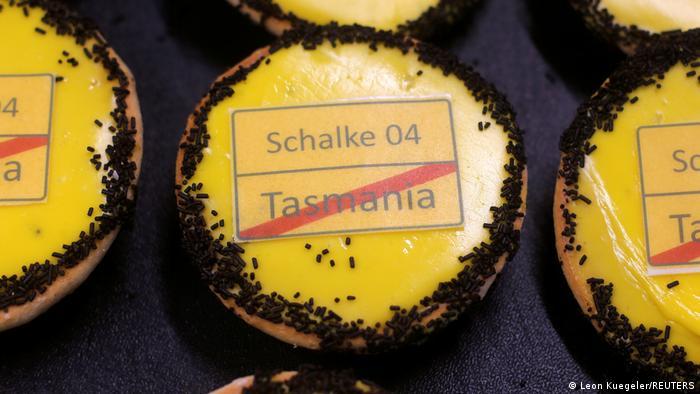 Deutschland Exit Schalke Kuchen in Dortmund