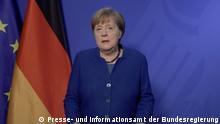 Angela Merkel - Podcast zur Coronakrise