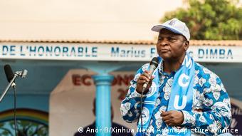Faustin-Archange Touadera, Président de la Centrafrique